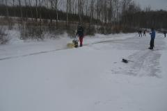 2010-01-10 Grote schoonmaak ijsbaan de Bewwerskaamp 1