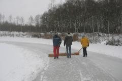 2010-01-10 Grote schoonmaak ijsbaan de Bewwerskaamp 17
